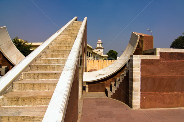Stock photo: Jantar Mantar observatory