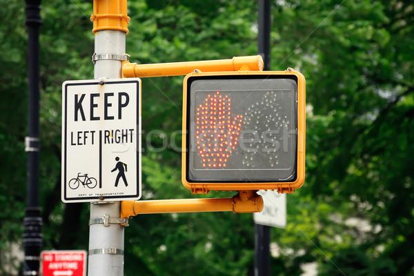 Don't walk traffic light Stock photo © ErickN