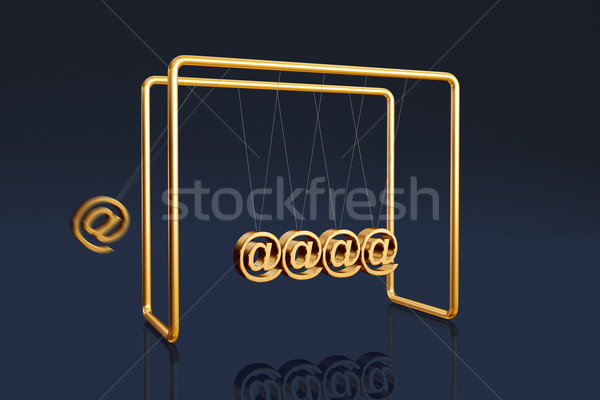 Internet cradle Stock photo © ErickN