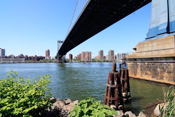 Photo stock: Manhattan · pont · rivière · New · York · City · USA