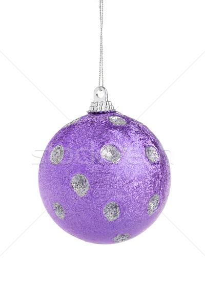 Stockfoto: Violet · christmas · bal · familie · partij · vrienden