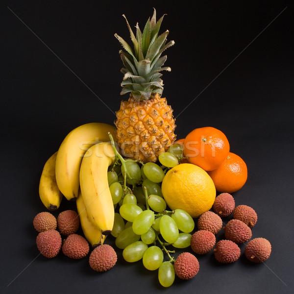 Zdjęcia stock: świeże · owoce · różny · ciemne · owoców · zdrowia