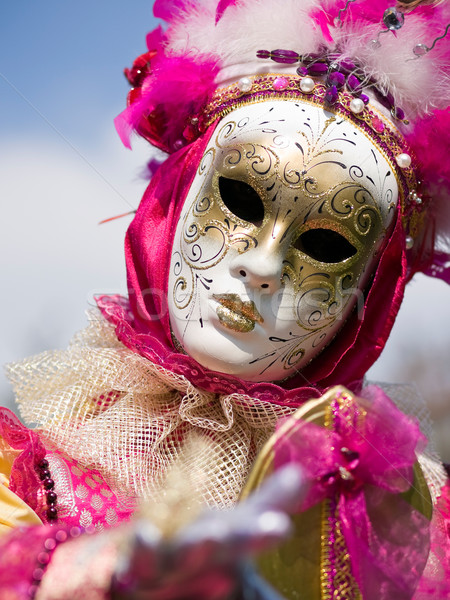 Venitian Carnival in Paris Stock photo © ErickN
