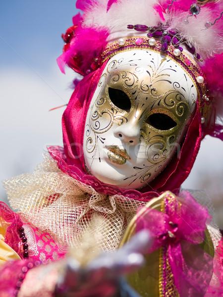 Carnaval Paris costume quai rivière Photo stock © ErickN