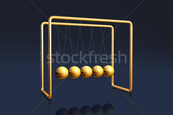 Newton's cradle Stock photo © ErickN
