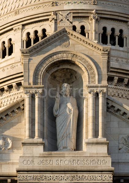 Сток-фото: архитектура · подробность · Монмартр · Париж · Франция