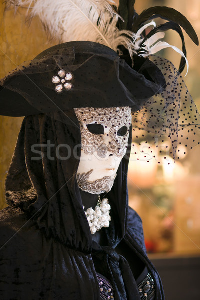 Carnival mask and costume in Venice Stock photo © ErickN