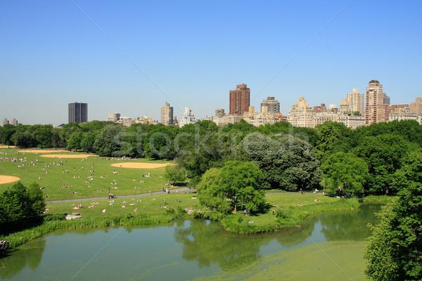 セントラル·パーク 表示 マンハッタン ニューヨーク市 米国 空 ストックフォト © ErickN