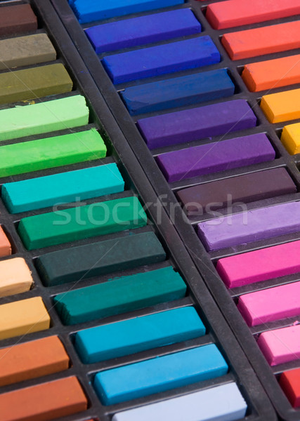 Soft pastels close up Stock photo © ErickN