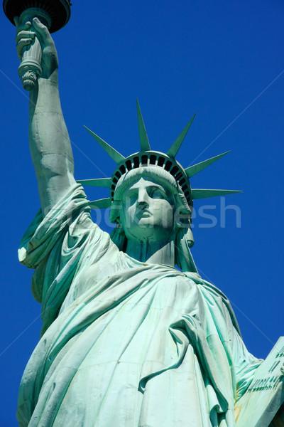 像 自由 クローズアップ 表示 ニューヨーク市 米国 ストックフォト © ErickN