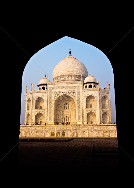 Taj Mahal Stock photo © ErickN