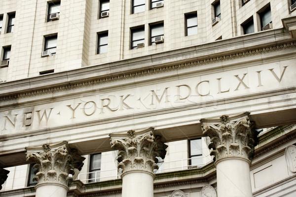 Manhattan муниципальный здании Нью-Йорк США Сток-фото © ErickN
