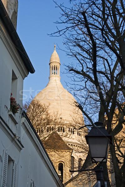 The dome of the Sacre Coeur Stock photo © ErickN