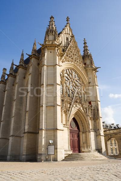 The Sainte-Chapelle (Holy Chapel) Stock photo © ErickN