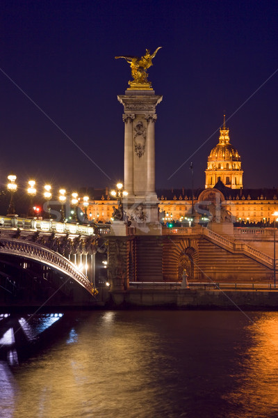 Pont Alexandre III Stock photo © ErickN