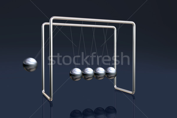 Newton's cradle Stock photo © ErickN