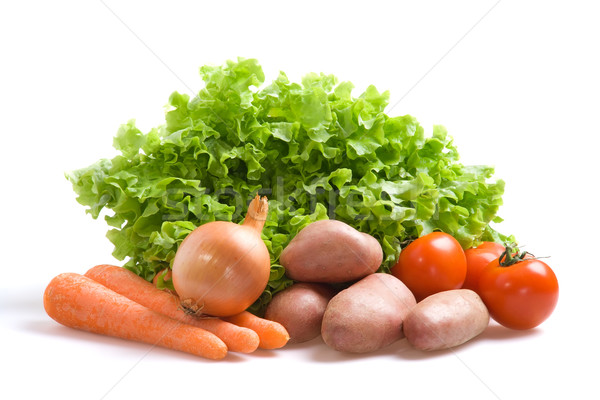 Fresh vegetables Stock photo © ErickN