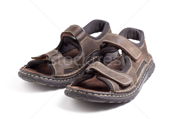 Hiking sandals Stock photo © ErickN