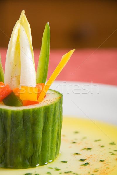 Vegetarian starter Stock photo © ErickN