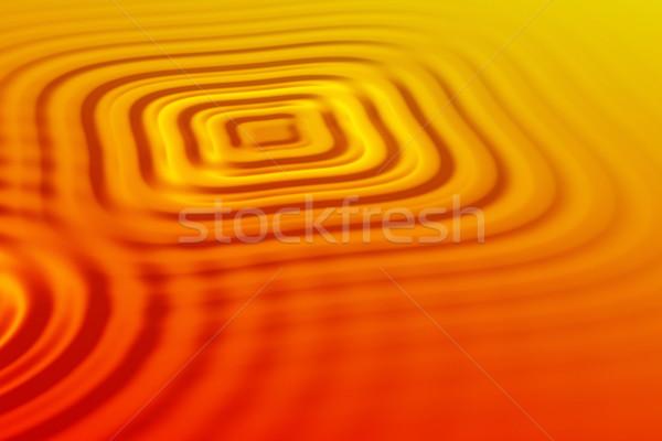 Orange waves Stock photo © ErickN