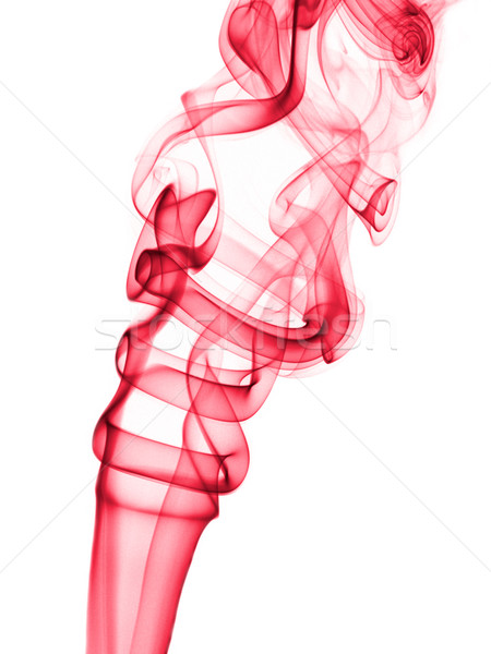 Photo stock: Encens · fumée · vague · sentier · tourbillon · vertical