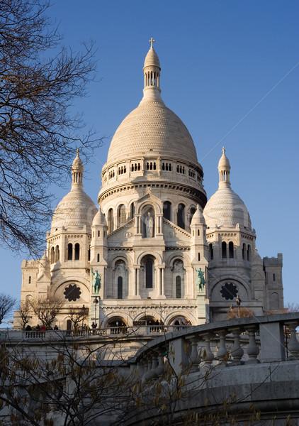 базилика Монмартр Париж Франция Сток-фото © ErickN