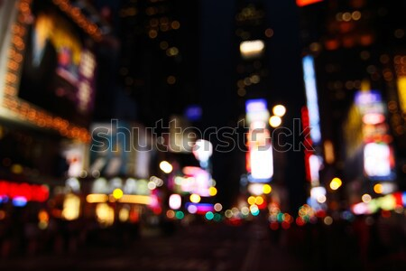 Times Square abstract - NYC Stock photo © ErickN