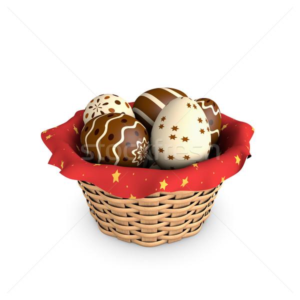 Easter basket Stock photo © ErickN