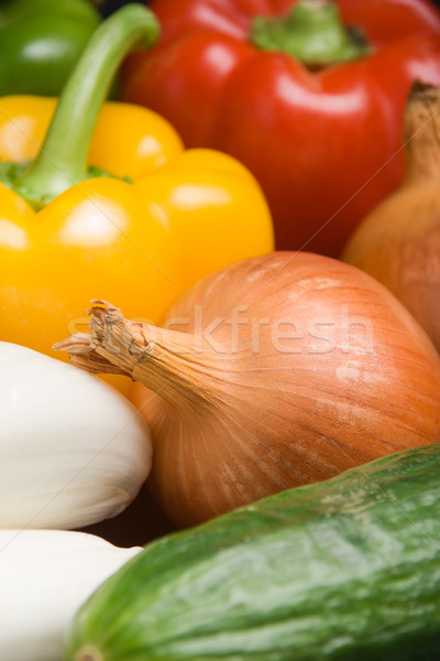 Fresh onion Stock photo © ErickN