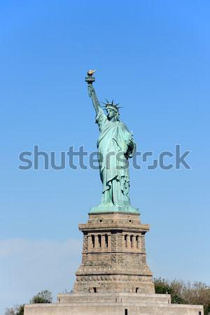 Stok fotoğraf: Heykel · özgürlük · ada · New · York · ABD