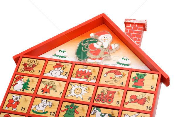 Advent calendar Stock photo © ErickN