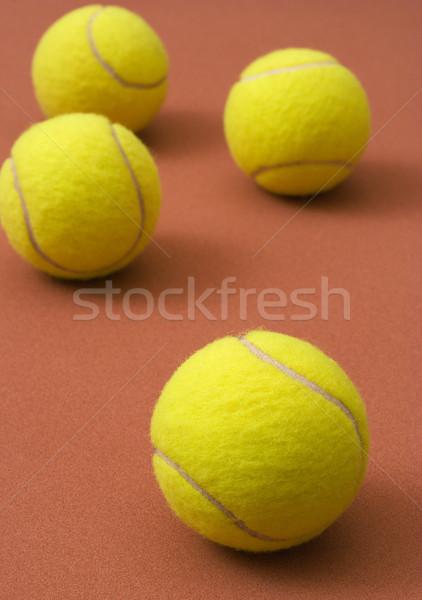 Tennis balls Stock photo © ErickN