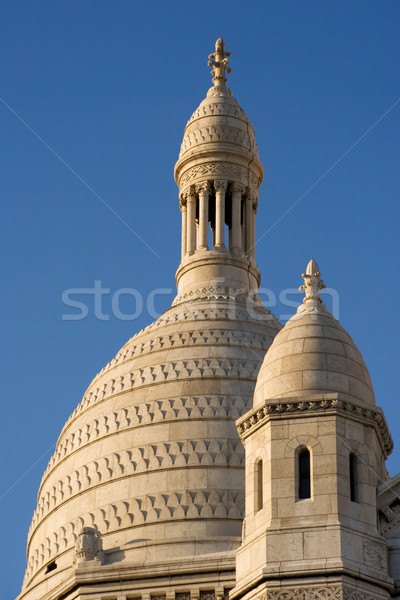The dome of the Sacre Coeur Stock photo © ErickN