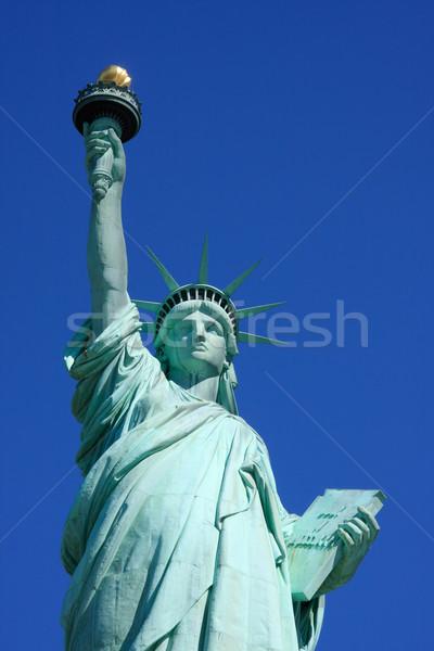 Statue of Liberty close-up Stock photo © ErickN