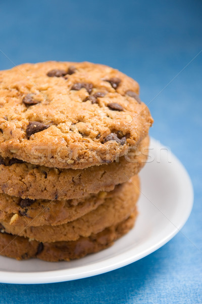 Avellana chocolate cookies chips blanco Foto stock © ErickN