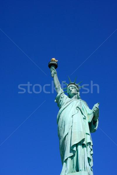 Stok fotoğraf: Heykel · özgürlük · görmek · New · York · ABD