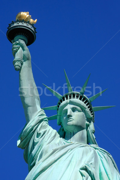 Statue of Liberty close-up Stock photo © ErickN