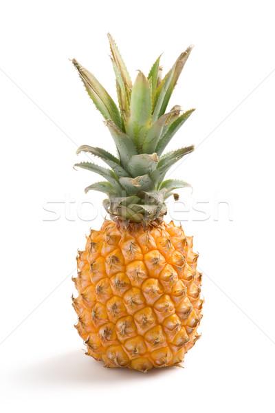 Fraîches ananas fruits santé marché manger Photo stock © ErickN