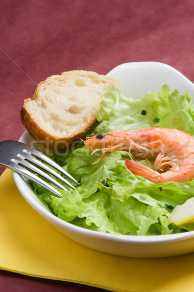 Shrimp salad Stock photo © ErickN