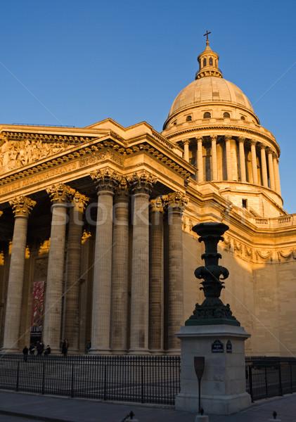 сумерки Париж Франция город городского архитектура Сток-фото © ErickN