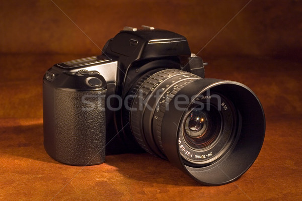 SLR camera Stock photo © ErickN