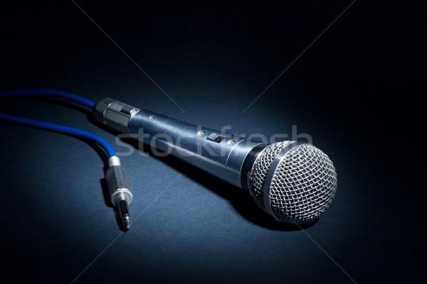 Studio microphone Stock photo © ErickN