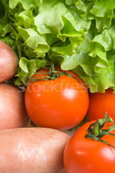 Fresh tomatoes Stock photo © ErickN