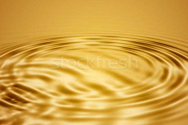 Golden waves Stock photo © ErickN