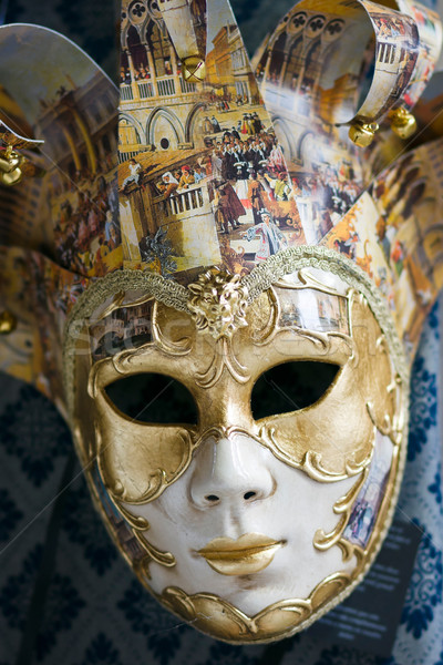Venetian carnival mask Stock photo © ErickN