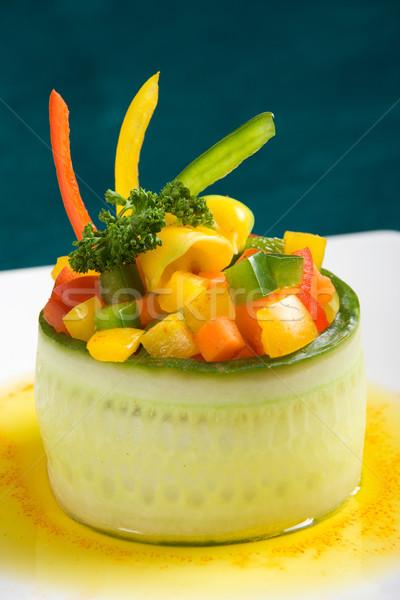 Vegetarian starter Stock photo © ErickN