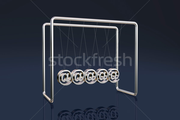 Internet cradle Stock photo © ErickN