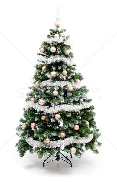 Christmas tree on white Stock photo © erierika