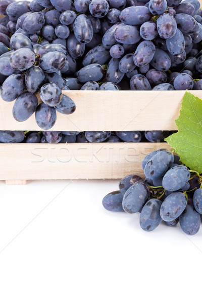 Close view of red table grape (Vitis) clusters Stock photo © erierika