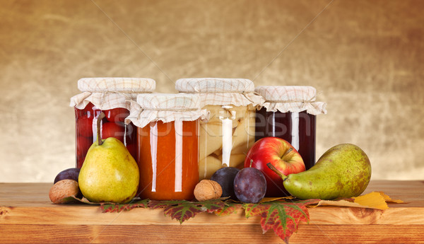 Fruit preserves Stock photo © erierika
